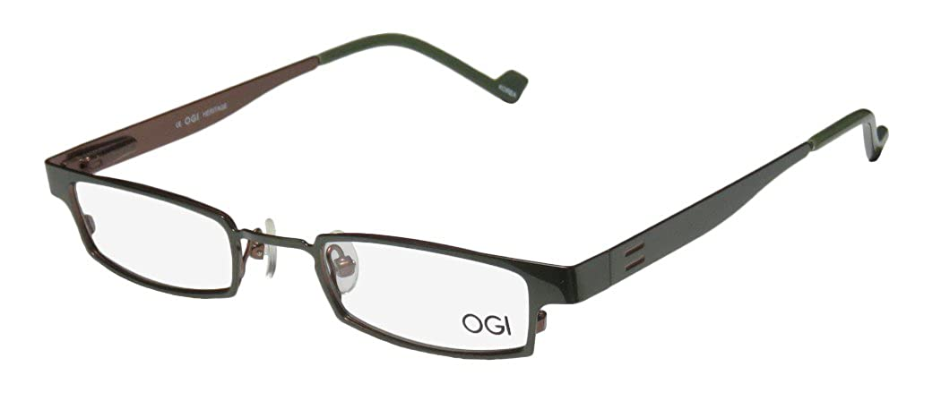 Ogi 2229 Mens//Womens Designer Full-rim Spring Hinges Avant-garde Design Must Have Optical Eyeglasses//Eyewear