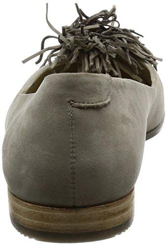 Forma Damen Ecco Ballerina Strutturato Pantofola Roccia Lunare