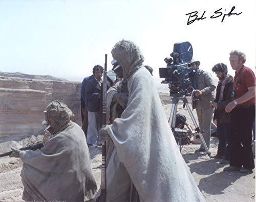 BOB SPIKER as a Tusken Raider - Star Wars GENUINE AUTOGRAPH