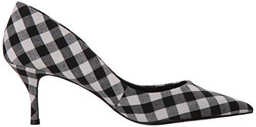 Charles David By white Black Femmes Plates Chaussures qrqAfS