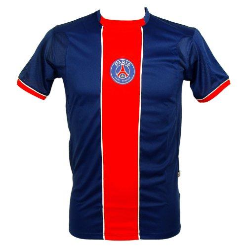 PSG - Official PSG Men's Soccer Jersey - Blue, Red - Size : L