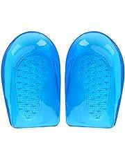Brrnoo 1 Par Gel de Silicona O/X Plantillas para la corrección de la Pierna Pie ortopédico Arco Soporte Zapatos Inserción Almohadillas Heel Cup