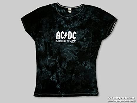 9a817bace5a5b T-Shirt AC DC - Back In Black - YOUTH -Small - Import Direct USA  AC ...
