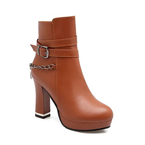weenfashion-womens-pu-round-closed-toe-solid-high-heels-boots-with-chains-and-charms-brown-34