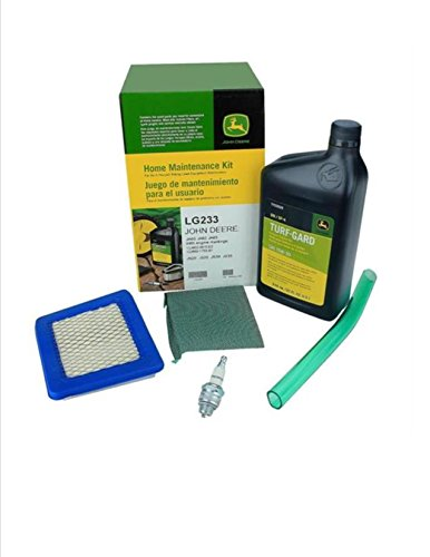 John Deere Maintenance Kit JA60 JA62 JA65 JS20 JS25 JS30 JS35 Air Filter, Precleaner , Oil, Drain Tube LG233