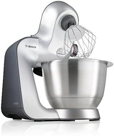 Bosch MUM56340 - Robot de cocina, 900 W, capacidad de 3,9 l, color negro y plata: Amazon.es: Hogar