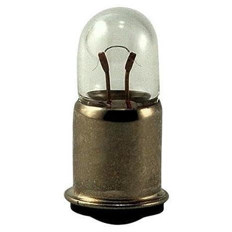 Miniature Screw Base T3.25 Bulb 10 Pack 40 Mini Indicator Lamp 6.3 Volt Eiko 0.15 Amp