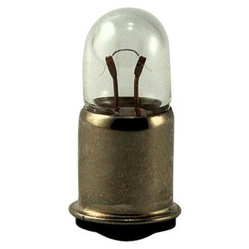 Eiko 328-5 328, 6V .2A T1-3/4 Midget Flange Base Light Bulb (Pack of - Base Light Bulb Flanged Eiko