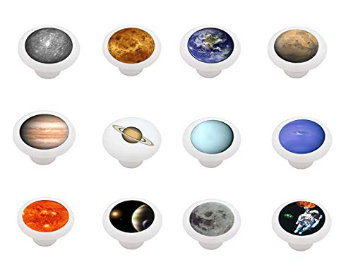 (Set of 12 Space Themed Drawer/Cabinet Knobs by Gotham)