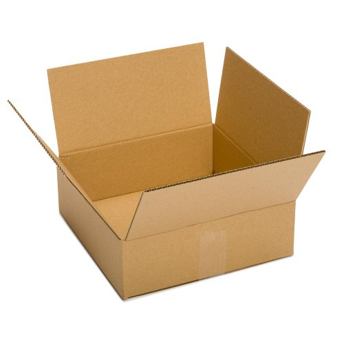 Pratt PRA0069 100% Recycled Corrugated Cardboard Box, 13' Length x 10' Width x 4' Height (Pack of 25)