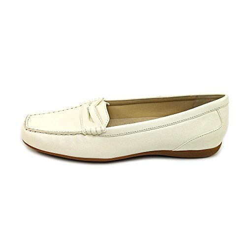 (Trotters Womens Francie Square Toe Loafers, White, Size 11.0)