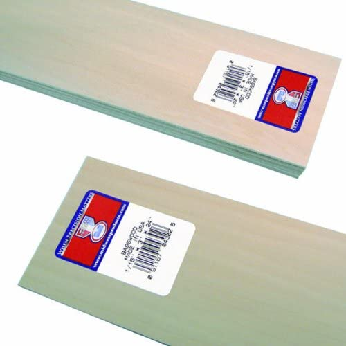 0.06x3x24-Inch Midwest Products 4302 Micro-Cut Quality Basswood Sheet Bundle