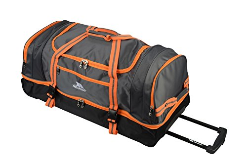 Trespass Galaxy Rolling Duffle Wheeled Travel / Sports Bag (80cm, Orange)