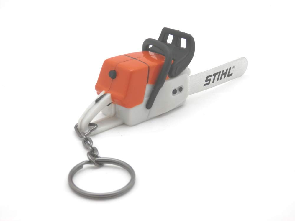 Stihl Battery Operated Chainsaw Keyring - With Sounds