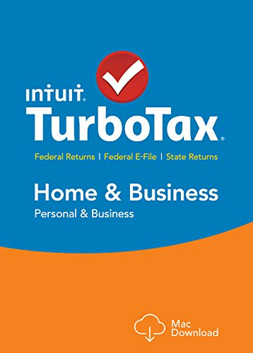 TurboTax Home & Business 2015 Federal + State Taxes + Fed Efile Tax Preparation Software - Mac Download [Old Version] (Mac For Download Quicken 2015)