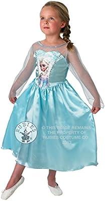 Amazon.com: Disney Classic Elsa de Frozen vestido + peluca ...