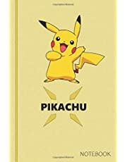 Pikachu: Anime Lover Notebook, 120 Squared Pages, Gift, School&Office, Pokemon, Pikachu