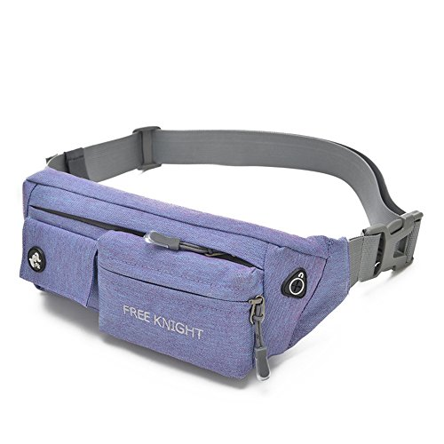 nine-cif-unisex-outdoor-sports-nylon-waist-pack-purple