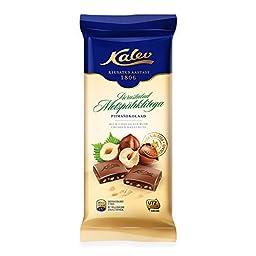 Milk Chocolate with Hazelnuts 3.53oz/ 100g