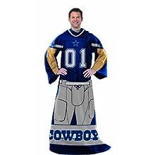 NFL Dallas Cowboys Full Body Player Comfy Throw