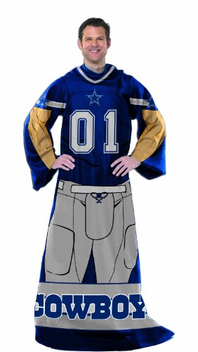 The Northwest Company NFL Dallas Cowboys Full Body Player Comfy Throw (Best Player On The Cowboys)