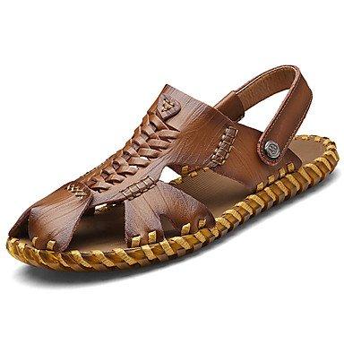 Shuaiguo Schuhe Sommer Sandalen Herren Fur Herren Herren Sandalen