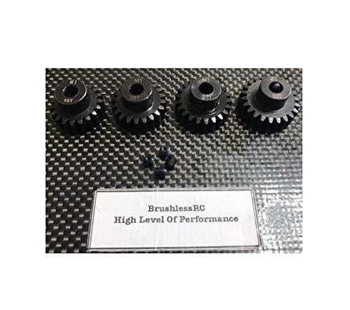 (19T 20T 21T 22T Steel Mod 1 Pinion Gear Set Compatible w/Arrma 1/8 Outcast Typhon Senton Quick Arrive)