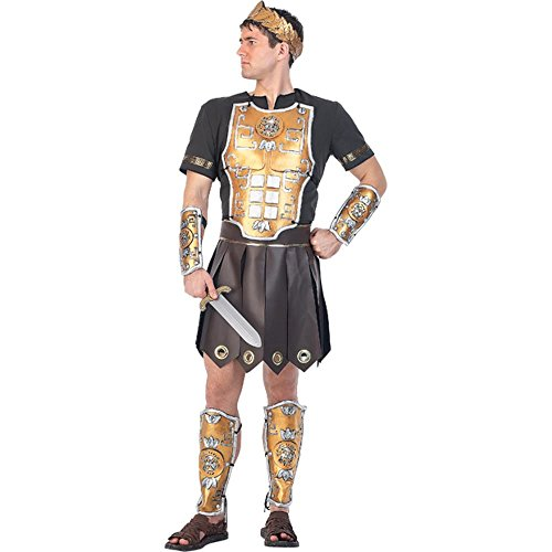 [Adult Perseus Gladiator Costume (Size: Standard 44)] (Mens Perseus The Gladiator Costumes)