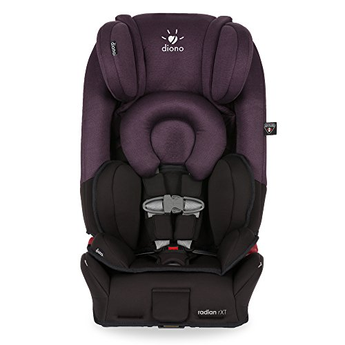 Diono Radian RXT All-In-One Convertible Car Seat, Black