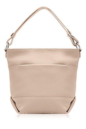 Smoke Rose Leather Bag Cross Bucket Italian Shoulder Body and A0qwpnFxU