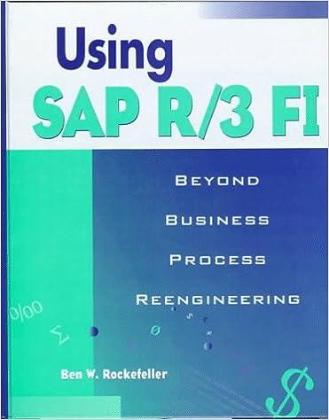 Using SAP R/3 F1: Beyond Business Process Reengineering