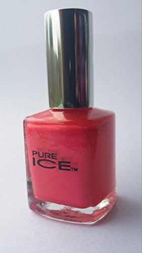 Bari Pure Ice Nail Polish, Pretty In Pink (Pink Pearl Shimmer), 0.5 oz 0.5 Ounce Ice Pearl