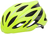 Giro Savant Road Bike Helmet, Yellow, Large