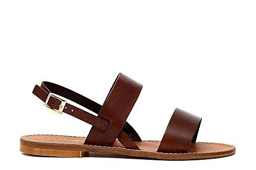 Women's Bar Kge134 2401 109 Sandals T Moro CAFèNOIR Cuoio 4 T PxOTwO