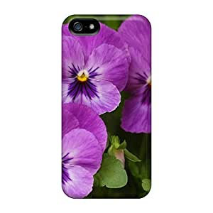 For SamSung Note 3 Phone Case Cover - PC Case Protective- Purple Violas
