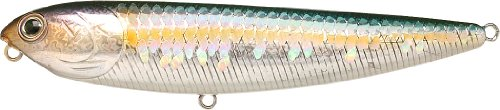 Lucky Craft Fishing Lure Sammy 100 Water Bait, MS American Shad, 4-Inch (98.5mm)