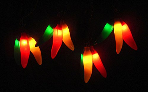 yellow chili pepper lights - 2