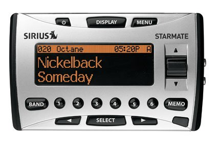 amazon com sirius starmate st1 satellite radio receiver with car rh amazon com Starmate 4 Car Kit Sirius Starmate 4 Car Kit
