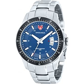 Swiss Eagle SE-9032-33 Harrenarmbanduhr