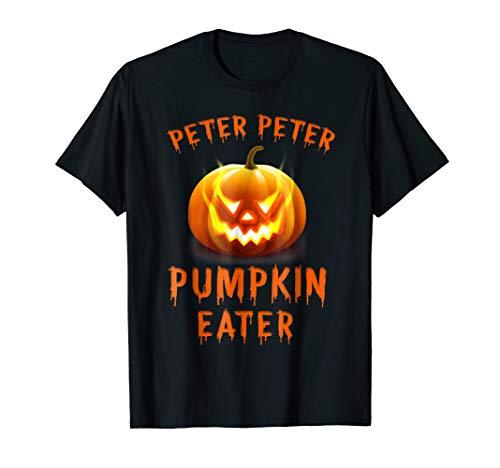 Peter Peter Pumpkin Eater Couples Halloween Costume Shirt