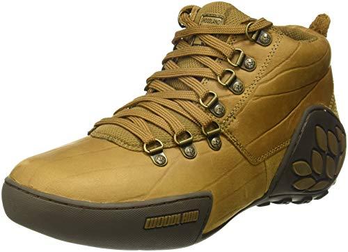 Woodland Men's Leather Sneakers - PriceBuyo
