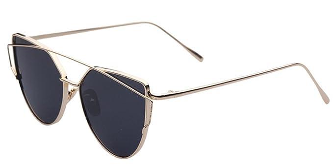 BOZEVON Gafas de sol Mujer Cool Fashion Lujo Clásico Gafas ...