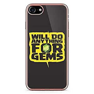 iPhone 7 Transparent Edge Case Clash Of Clans Will Do Anything For Gems
