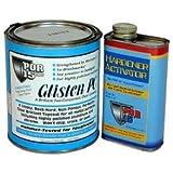 POR 15 GPCQ Glisten Pc Clearcoat Quart Kit Quart Kit With Hardner