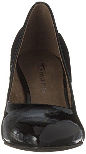 Noir Patent 22416 Tamaris Black Femme Escarpins 1qXxxBtdw