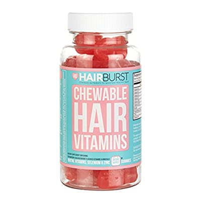 HAIRBURST ™ CHEWABLE Vitamins for Hair Growth - One Month Supply - 60 GUMMIES - Faster Hair Growth and Money Back Guarantee (1)