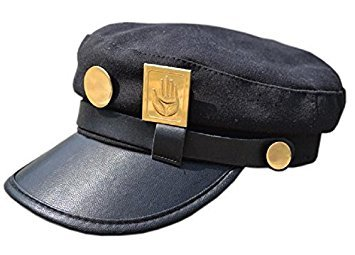 [Real type] and (will Taro Kujojo) Bizarre Adventure Jotaro Kujo of Jojo wind hat]()