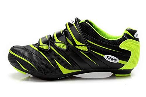 Racefiets schoenen voor racefiets, sportief, ademend, compatibel met System Look Unisex voor dames en heren