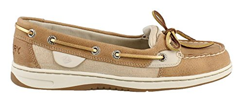 Sperry Women's Angelfish Metallic Linen 8 M US
