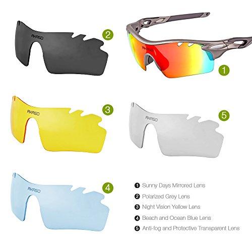 024ff967a0e AKASO Polarized Sports Sunglasses
